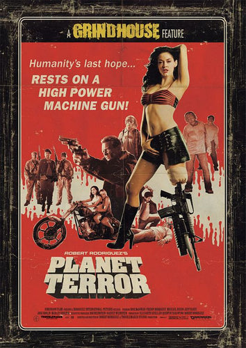 Planet Terror - Laminated, Mounted and Framed Original Movie Poster - egoamo.co.za