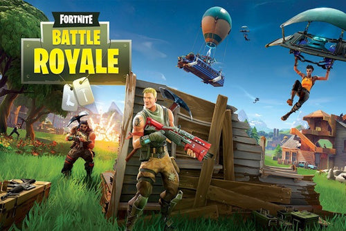 Fortnite Battle Royale Poster