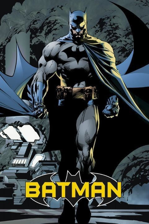 Batman Comic Poster - egoamo.co.za