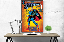 Superman - Kryptonite Nevermore Comic - Poster - egoamo.co.za