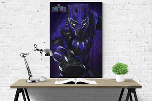 Black Panther - Glow Poster - egoamo.co.za