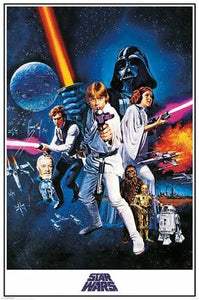 star wars - a new hope movie poster - EgoAmo.co.za