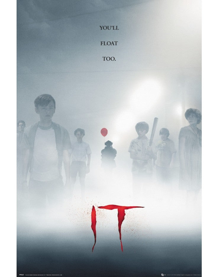 IT - You'll Float Too - Poster - egoamo.co.za