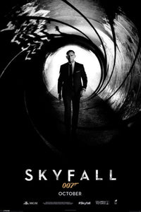 James Bond - Skyfall Teaser Poster - egoamo.co.za