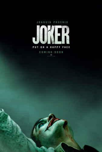 The Joker - Coming Soon Poster - egoamo.co.za