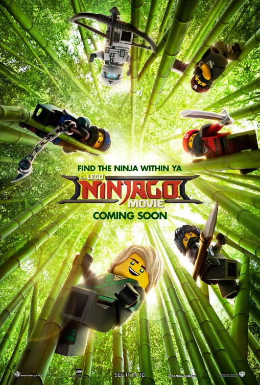 Lego Ninjago Movie Poster - egoamo.co.za