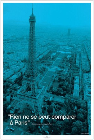 Paris Poster - egoamo.co.za