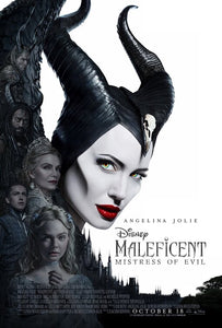 Disney's Maleficent Mistress of Evil - Original Block Mounted Cinema Poster - egoamo.co.za