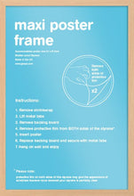 Beech Wood Effect Poster Frame - egoamo.co.za