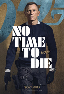 No time to die movie poster James Bond