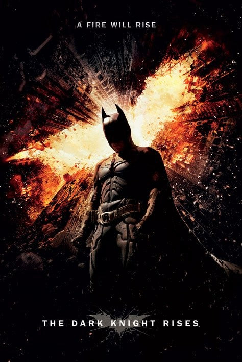 The Dark Knight Rises - Collectable One Sheet Poster - egoamo.co.za