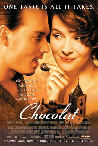 Chocolat - Collectable Movie Poster - egoamo.co.za