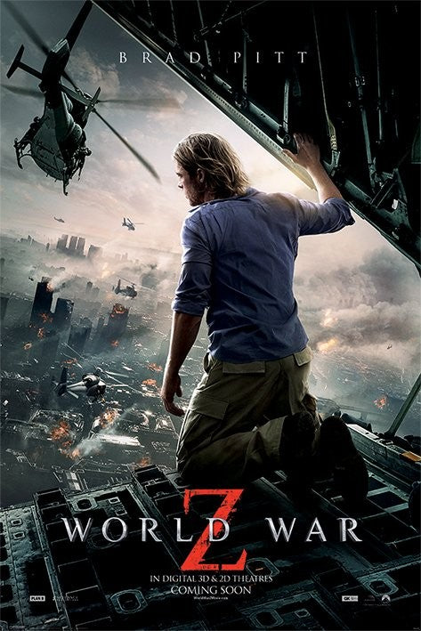 World War Z - Collectable Movie Poster - egoamo.co.za