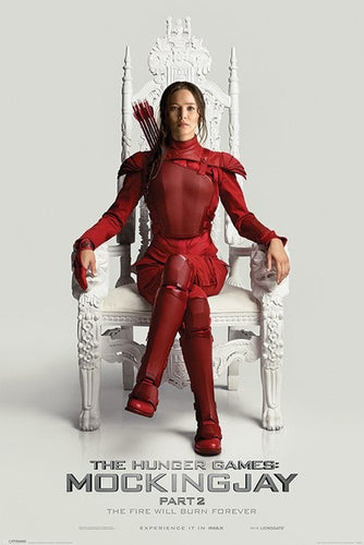 The Hunger Games (Katniss Throne) - Mockingjay Part 2 - Collectible Movie Poster - egoamo.co.za