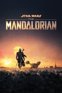 Star Wars: The Mandalorian (Dusk) Poster - egoamo.co.za