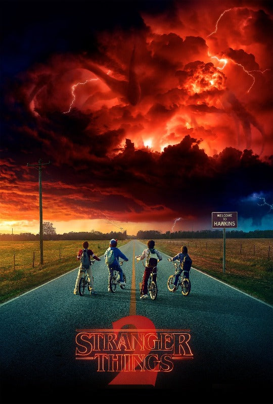 Stranger Things Netflix Poster