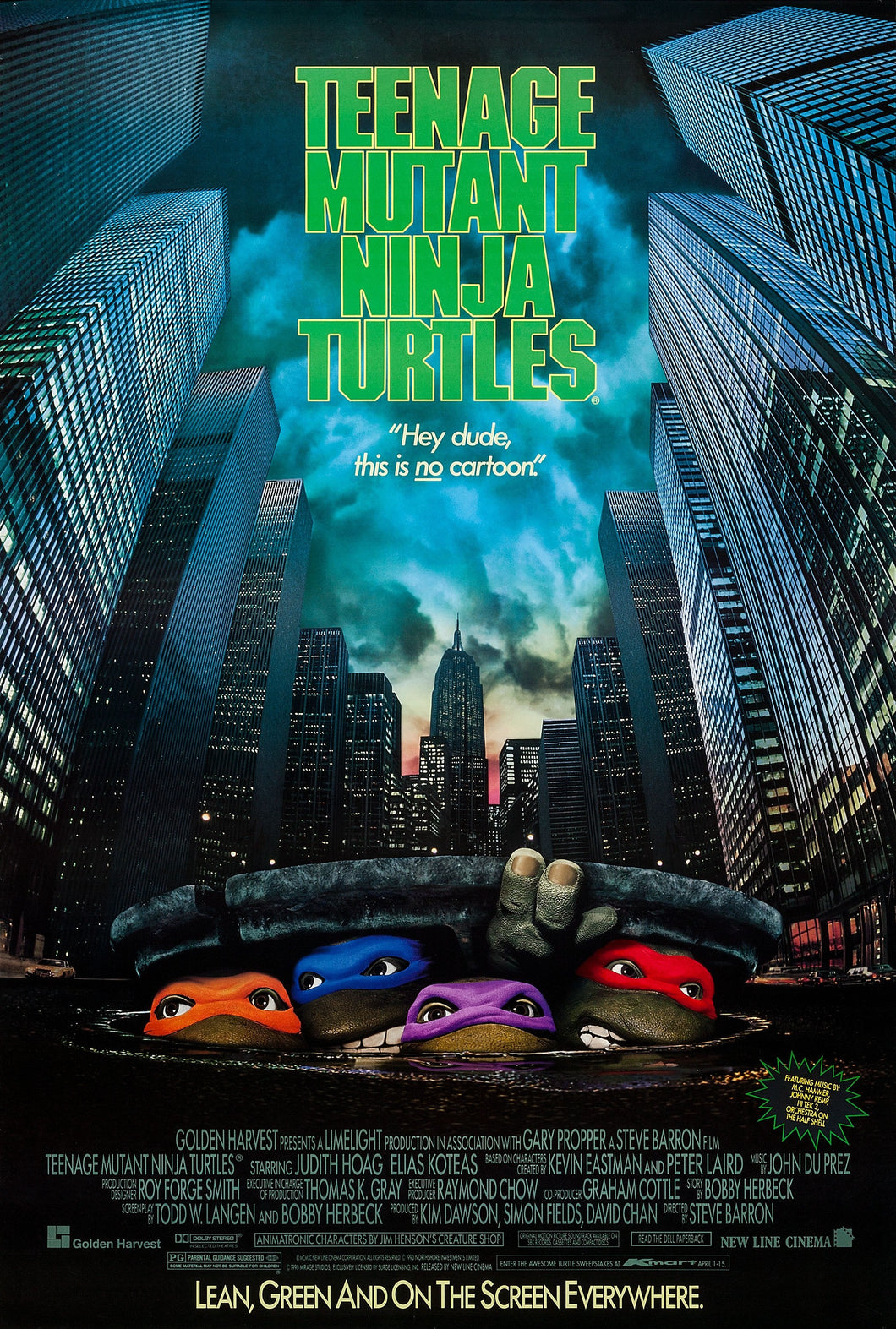 Teenage Mutant Ninja Turtles - 90s Poster - egoamo.co.za