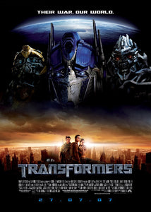 Transformers Movie Poster - egoamo posters