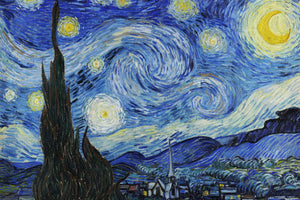 Vincent Van Gogh - Starry Night (1889) Poster - egoamo.co.za