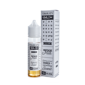 Charlie's Chalk Dust - Mustache Milk eliquid nz new zealand's vape shop