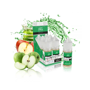Glas Salt - Juicy Apple eliquid nz new zealand's vape shop
