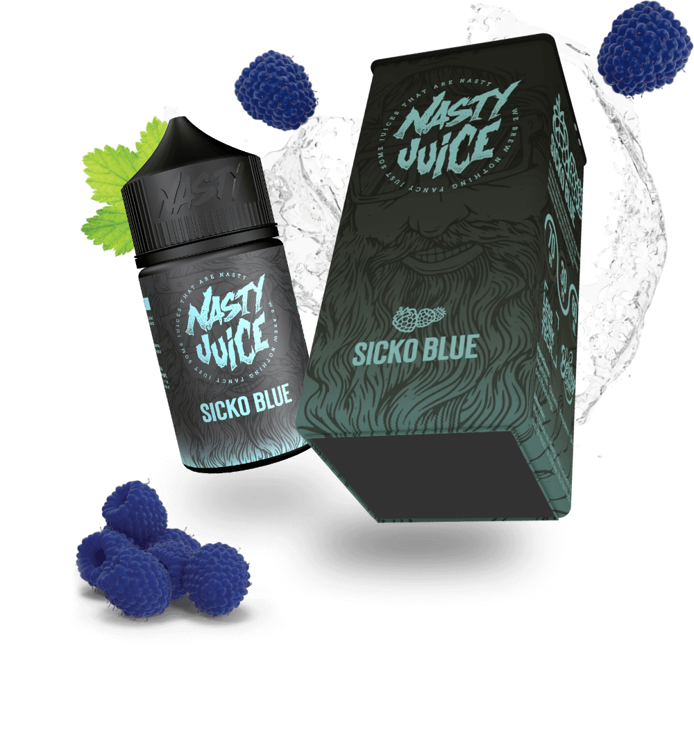 Nasty broski berry blue raspberry flavour ejuice eliquid fresh fruit