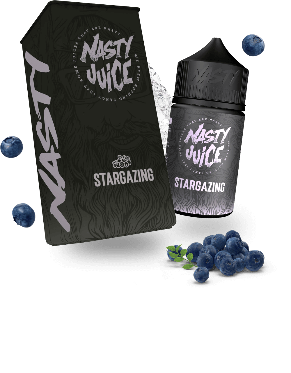 Nasty berry eliquid vape stargazing