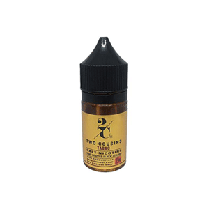 Two Cousins Salt - Tabac USA eliquid nz new zealand's vape shop