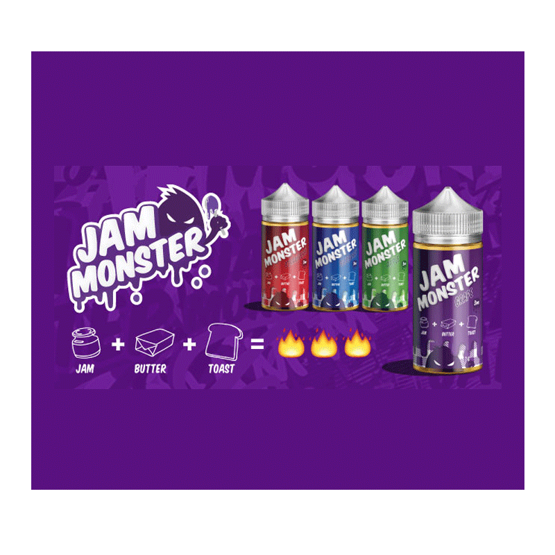Jam Monster USA Eliquid