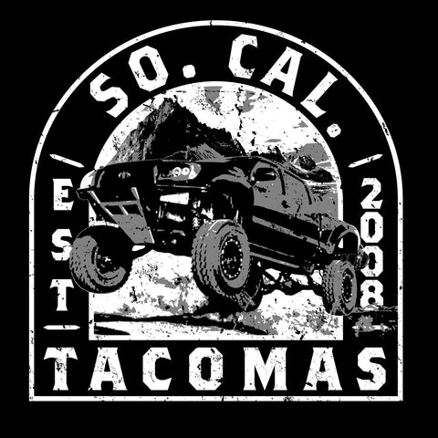 SoCal Tacomas Patch Decal