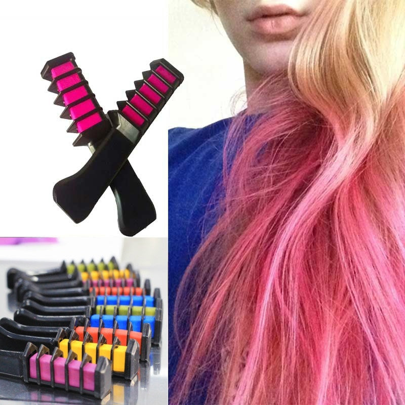 Semi Permanent Hair Color Chalk Powder
