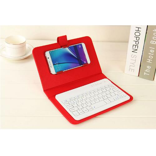 Bluetooth Phone Holder with Keyboard