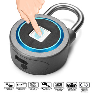 Fingerprint Recognition Bluetooth Padlock