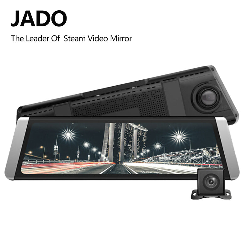 Car Dvr Stream Rearview Mirror Camera