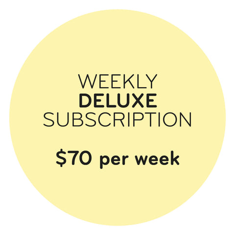 Weekly Deluxe Subscription