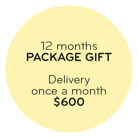 GIFT PACKAGE - ONE YEAR