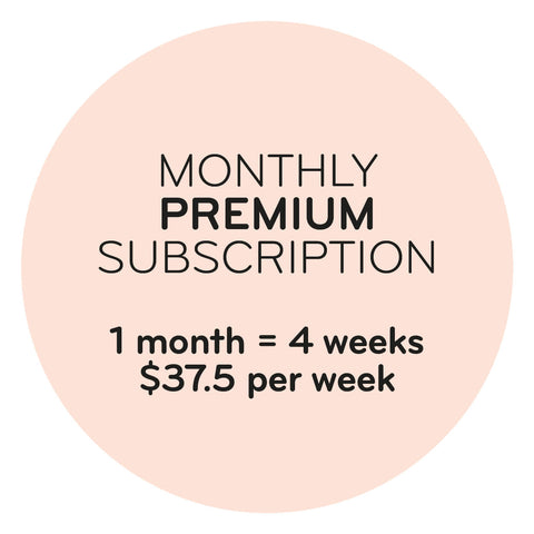 Monthly Premium Subscription