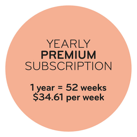 Yearly Premium Subscription