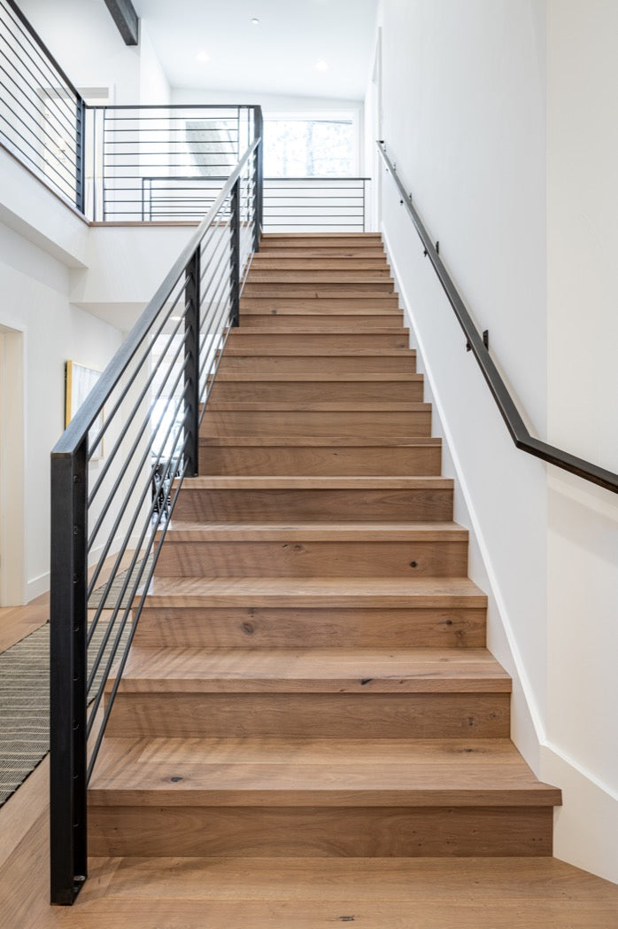 Stairway design for Truckee home