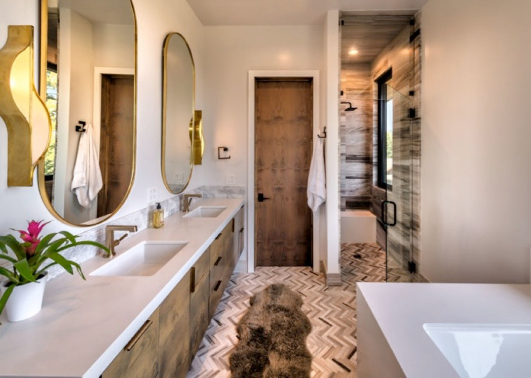Interior design for Martis Camp home in Truckee, CA.