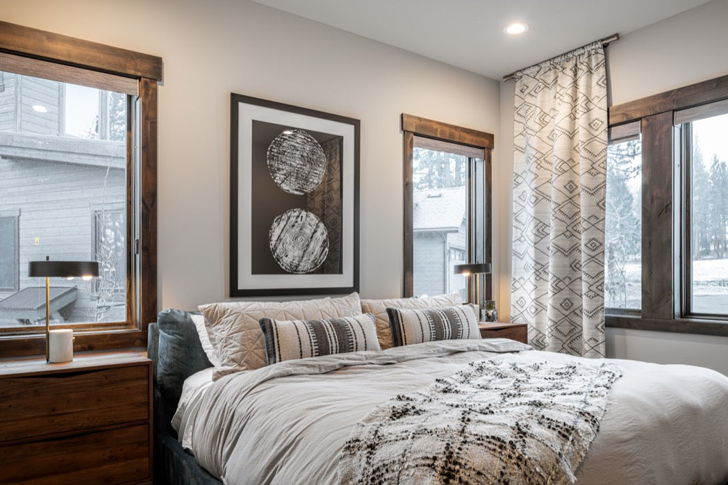 Bedroom design for Truckee vacation home