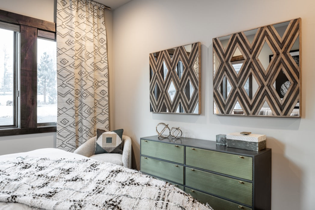 Bedroom design, Truckee CA