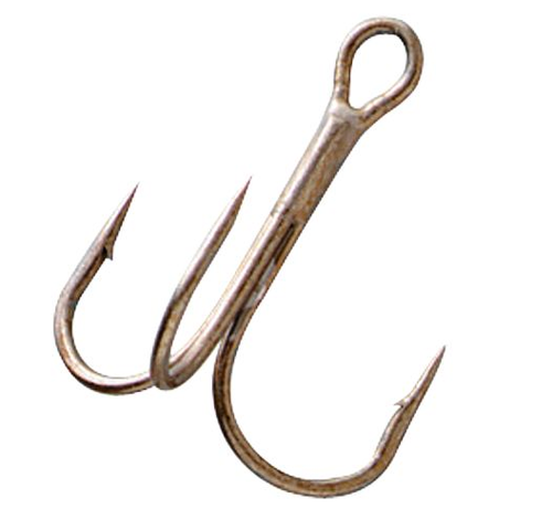 Gamakatsu Round Bend Treble Hook Pack