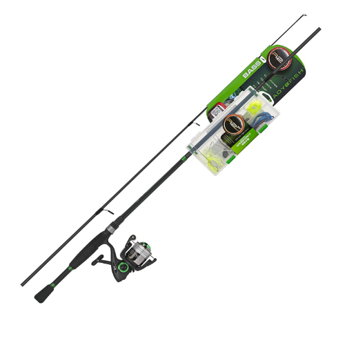 Ready 2 Fish Bass Spinning Combo Kit