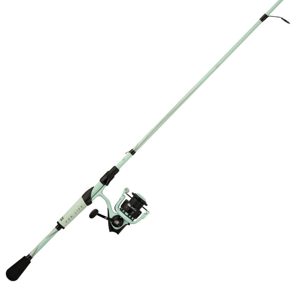 Abu Garcia Revo X LTD Spinning Rod and Reel Combo (Seafoam)