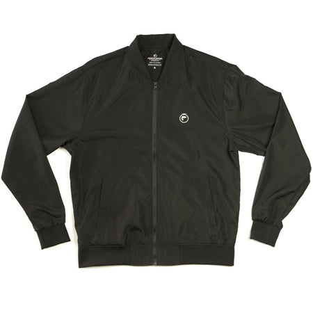 FishOn Energy Lightweight Bomber Jacket (black)