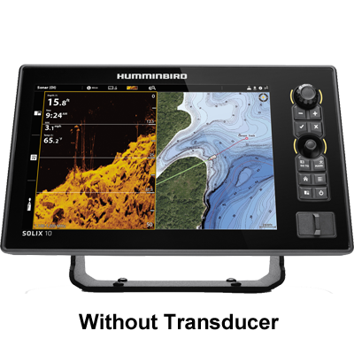 Humminbird Solix 10 CHIRP MegaDI+ G2, No Xdcr