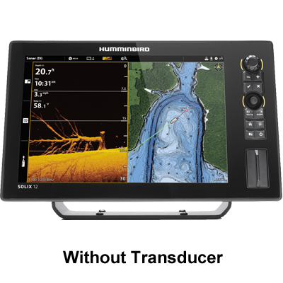 Humminbird Solix 12 CHIRP MegaDI+ G2, No Xdcr