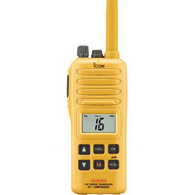 Icom Survival VHF, GM1600, 2 Watt, GMDSS