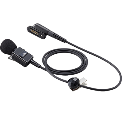 Icom Lapel Mic w/2.5mm Earphone Jack, M85